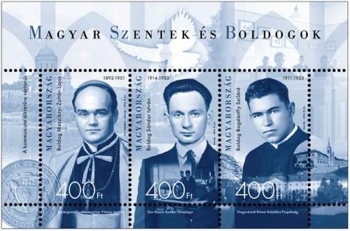 2014 MAGYAR SZENTEK ÉS BOLDOGOK II. - FEKETE NYOMAT