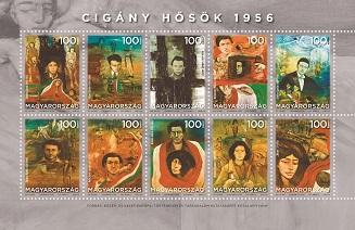 2018 Cigány hősök 1956 - Roma heroes 1956