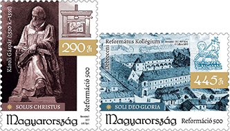 500 éves a reformáció bélyeg - 500 years of the reformation stamp