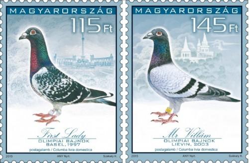 POSTAGALAMB OLIMPIA - bélyegsor