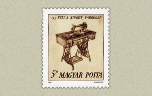 125 ÉVES A SINGER VARRÓGÉP