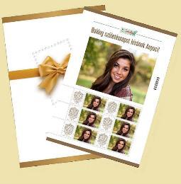 Saját bélyegem bélyegív - Very own stamp sheet