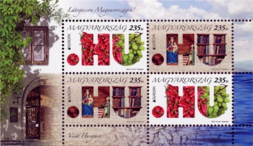 EUROPA 2012 bélyegkisív